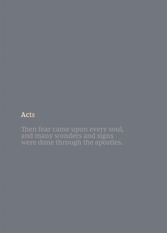 NKJV Bible Journal: Acts-Softcover | SHOPtheWORD