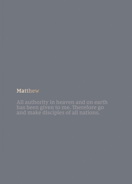 NKJV Bible Journal: Matthew-Softcover | SHOPtheWORD
