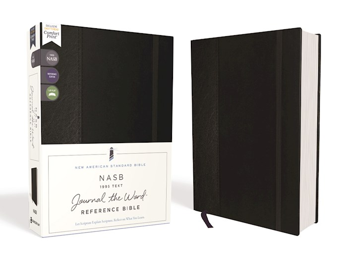 NASB Journal The Word Reference Bible (Comfort Print)-Hardcover | SHOPtheWORD