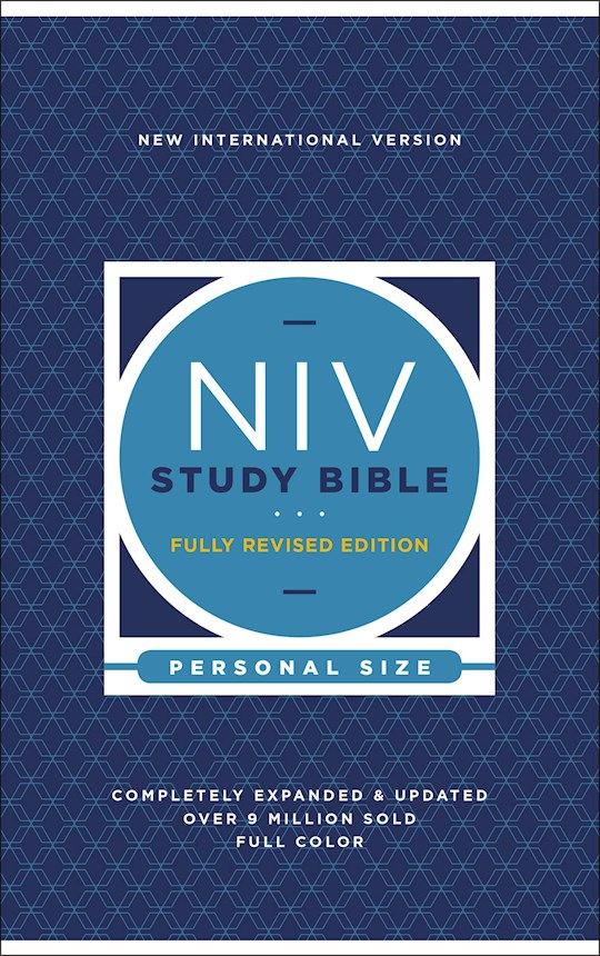NIV Study Bible/Personal Size (Fully Revised Edition) (Comfort Print)-Hardcover  | SHOPtheWORD