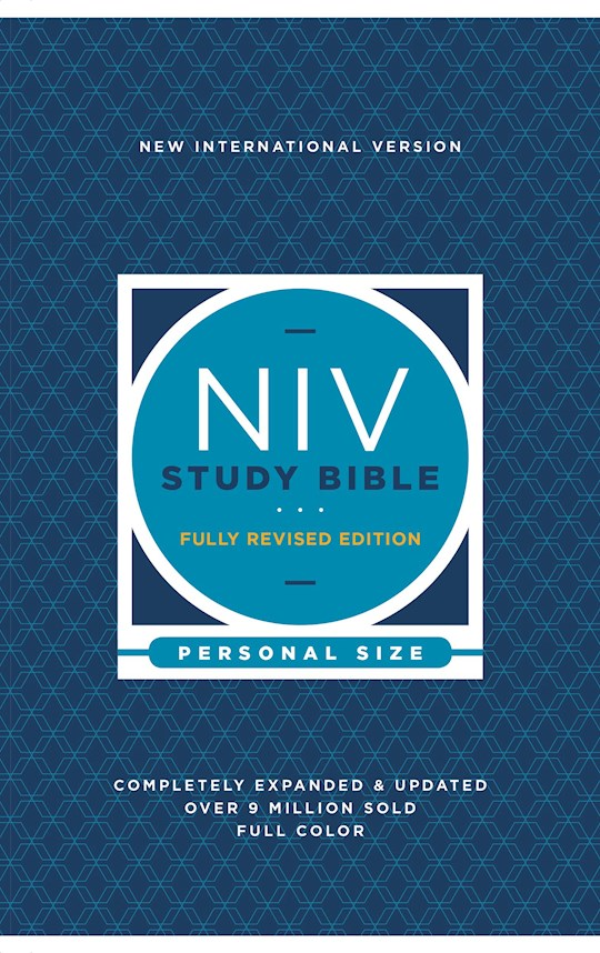 NIV Study Bible/Personal Size (Fully Revised Edition) (Comfort Print)-Softcover | SHOPtheWORD