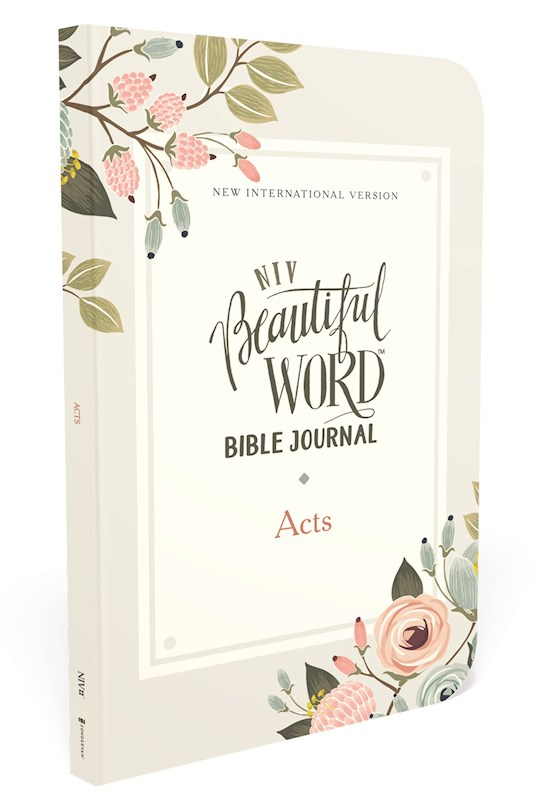 NIV Beautiful Word Bible Journal (Comfort Print): Acts-Softcover | SHOPtheWORD