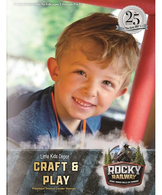 VBS-Rocky Railway-Little Kids Depot Craft & Play Leader Manual | SHOPtheWORD