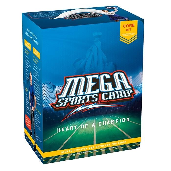 VBS-MEGA Sports Camp: Heart Of A Champion Core Kit (2020) | SHOPtheWORD