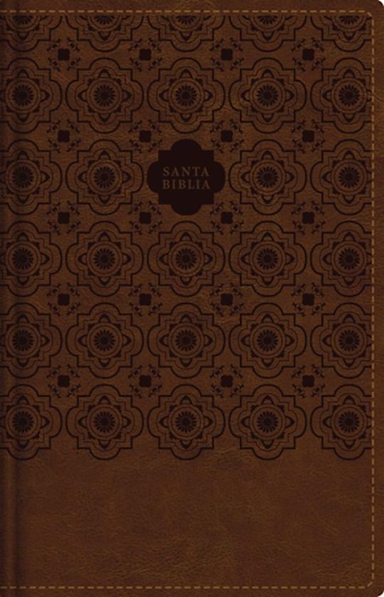 Span-RVR 1960 Large Print Compact Bible (Santa Biblia Letra Grande/Tamano Compacto)-Brown Leathersoft Indexed   SHOPtheWORD