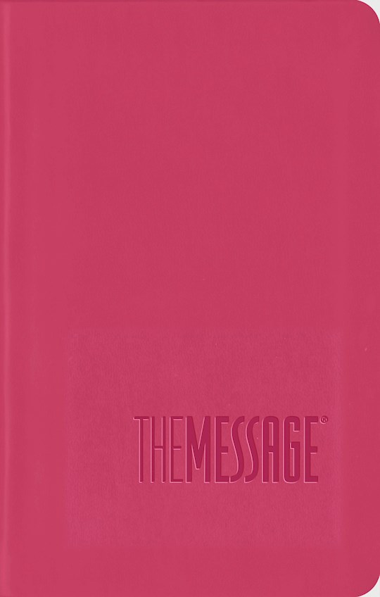 The Message Compact Bible ITP-Pink LeatherLook (International Customers Only) | SHOPtheWORD