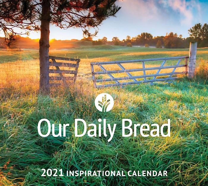 "Calendar-2021-Our Daily Bread Inspirational Wall (12"" x 12"") | SHOPtheWORD"
