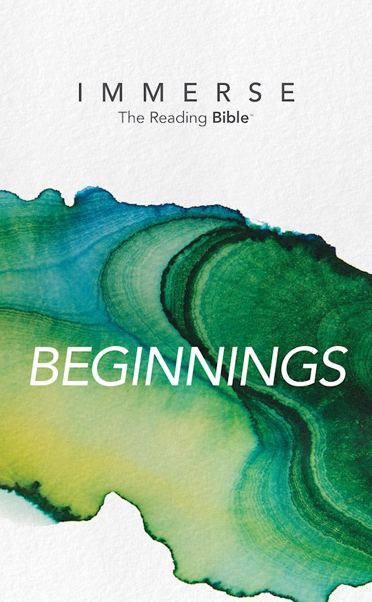 NLT Immerse: Beginnings-Softcover (Canadian Customers Only) | SHOPtheWORD