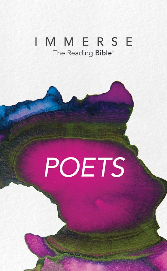 NLT Immerse: Poets-Softcover (Canadian Customers Only) | SHOPtheWORD
