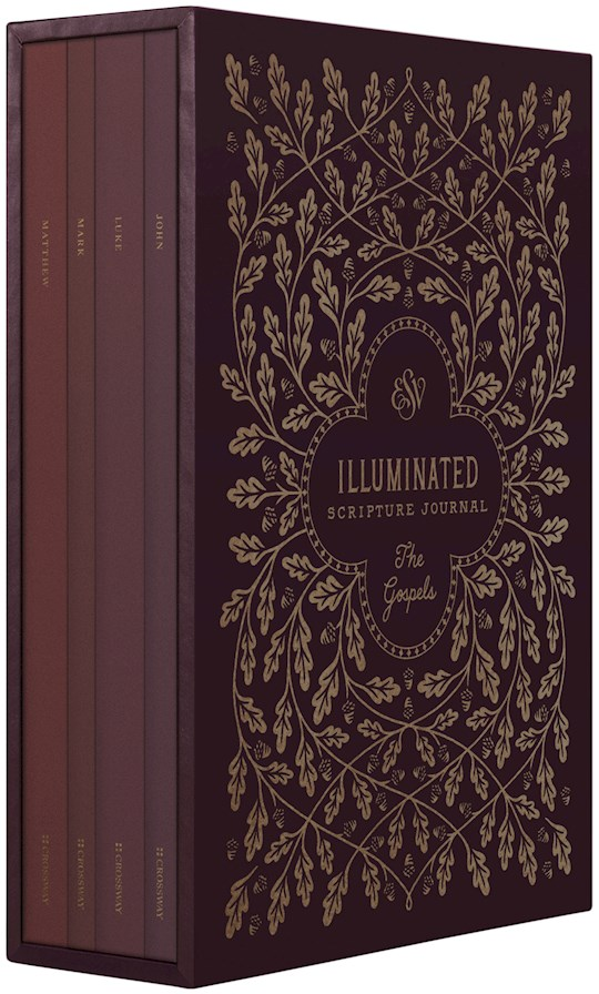 ESV Illuminated Scripture Journal: Gospels Set (4 Books) (May 2021) | SHOPtheWORD