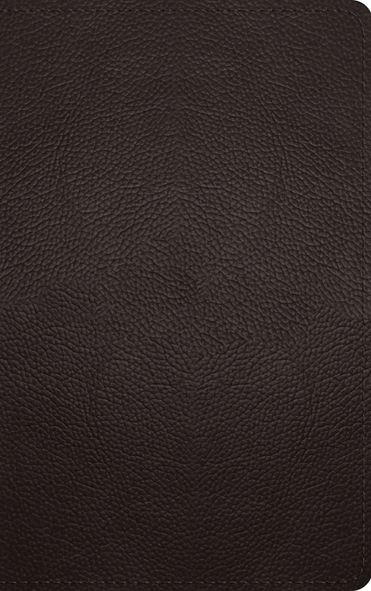 ESV Thinline Bible-Deep Brown Buffalo Leather | SHOPtheWORD