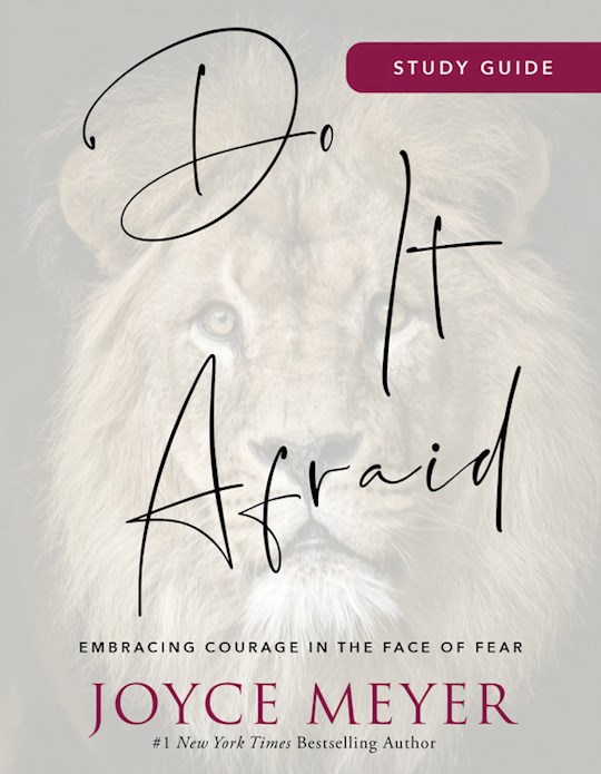 Do It Afraid Study Guide (Sep) by Joyce Meyer | SHOPtheWORD