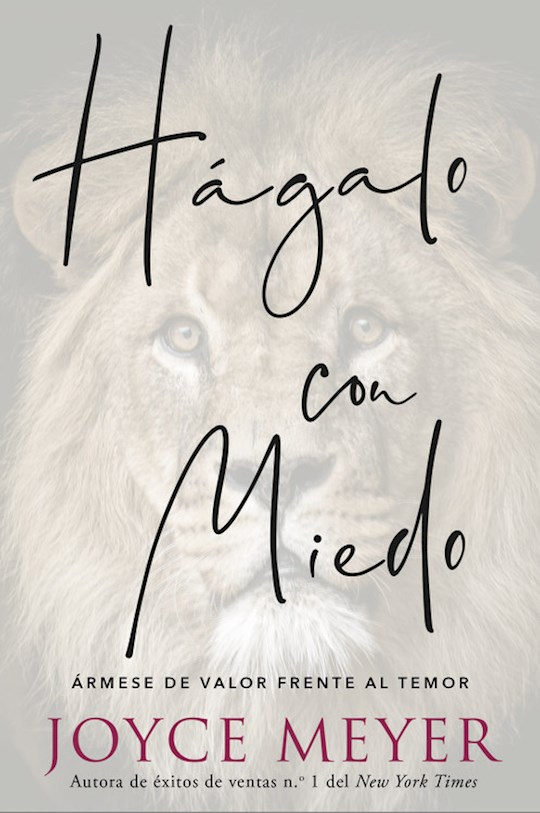 Span-Do It Afraid (Hagalo Con Miedo) by Joyce Meyer | SHOPtheWORD