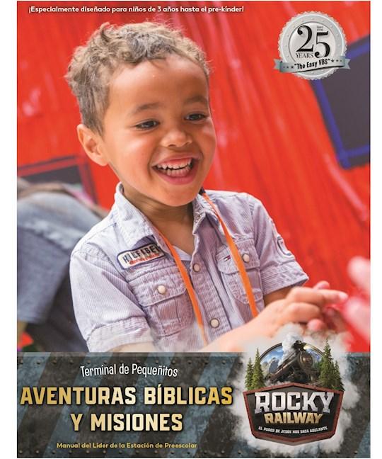 VBS-Rocky Railway-Preschool Bible Adventures Leader Manual (Spanish For Bilingual Edition) | SHOPtheWORD
