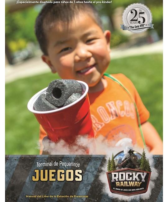 VBS-Rocky Railway-Preschool Games Leader Manual (Spanish For Bilingual Edition) | SHOPtheWORD