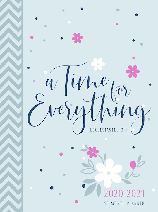 A Time For Everything 2021 18-Month Planner-Faux Leather Ziparound | SHOPtheWORD
