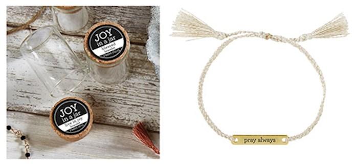 "Bracelet-Joy In A Jar-Pray Always (8"") | SHOPtheWORD"