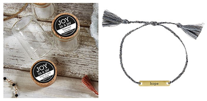 "Bracelet-Joy In A Jar-Hope (8"") 