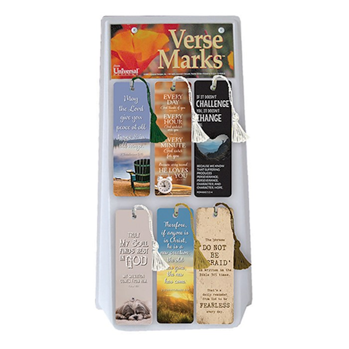 VerseMarks Display (72 Pieces) | SHOPtheWORD