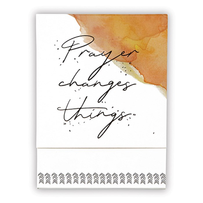 "Pocket Notepad-Prayer Changes Things (3"" x 4"") 