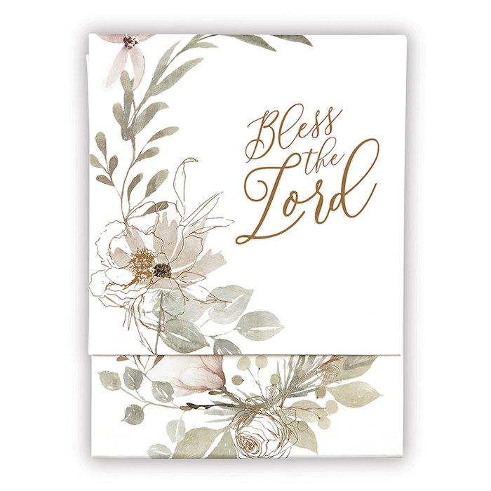 """Pocket Notepad-Bless The Lord (3"""" x 4"""")   SHOPtheWORD"""