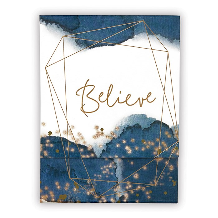 "Pocket Notepad-Believe (3"" x 4"") 