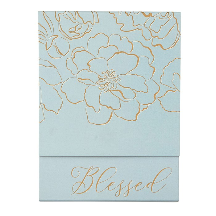 Pocket Notepad-Blessed-Gray | SHOPtheWORD