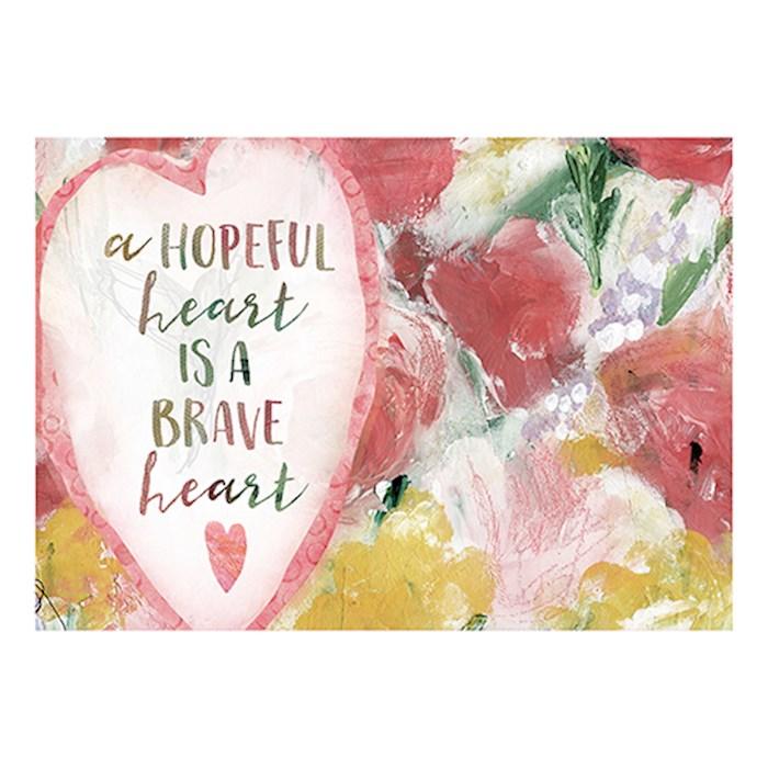Postcard-Hopeful Heart (6 x 4.25) (Pack Of 6)   SHOPtheWORD