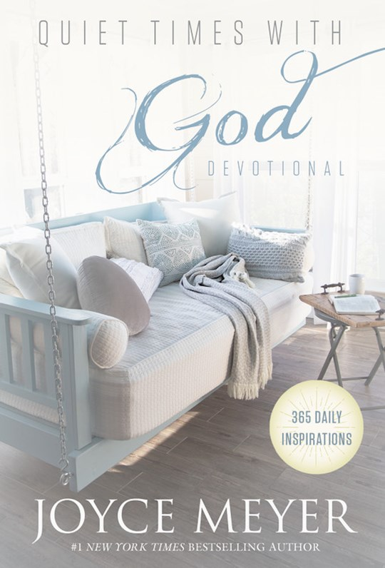 Quiet Times With God Devotional (Oct) by Joyce Meyer | SHOPtheWORD