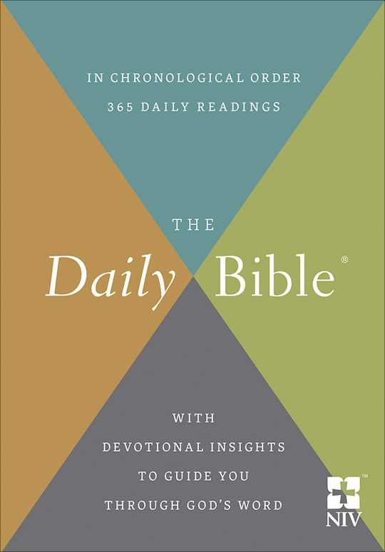 NIV Daily Bible In Chronological Order-Hardcover | SHOPtheWORD