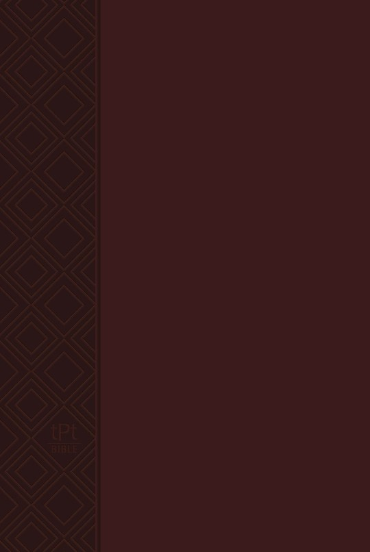 The Passion Translation New Testament w/Psalms, Proverbs & Song Of Songs (2020 Edition)-Brown Imitation Leather   SHOPtheWORD