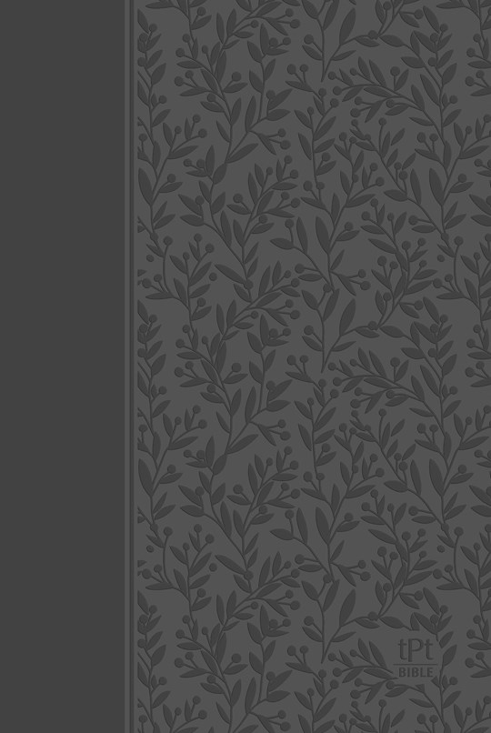 The Passion Translation New Testament w/Psalms, Proverbs & Song Of Songs (2020 Edition)-Gray Imitation Leather  | SHOPtheWORD