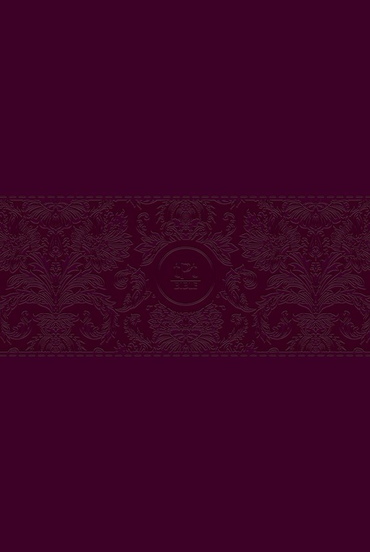 The Passion Translation New Testament w/Psalms, Proverbs & Song Of Songs/Large Print (2020)-Burgundy Imitation Leather | SHOPtheWORD