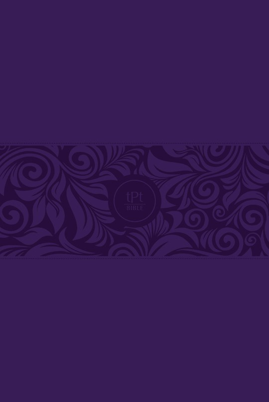The Passion Translation New Testament w/Psalms, Proverbs & Song Of Songs/Large Print (2020)-Violet Imitation Leather  | SHOPtheWORD