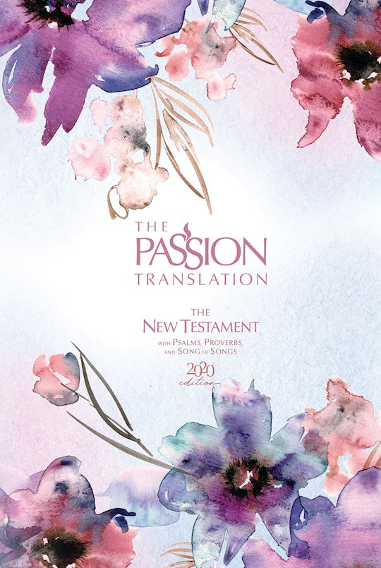 The Passion Translation New Testament w/Psalms, Proverbs & Song Of Songs (2020 Edition)-Plum Hardcover | SHOPtheWORD