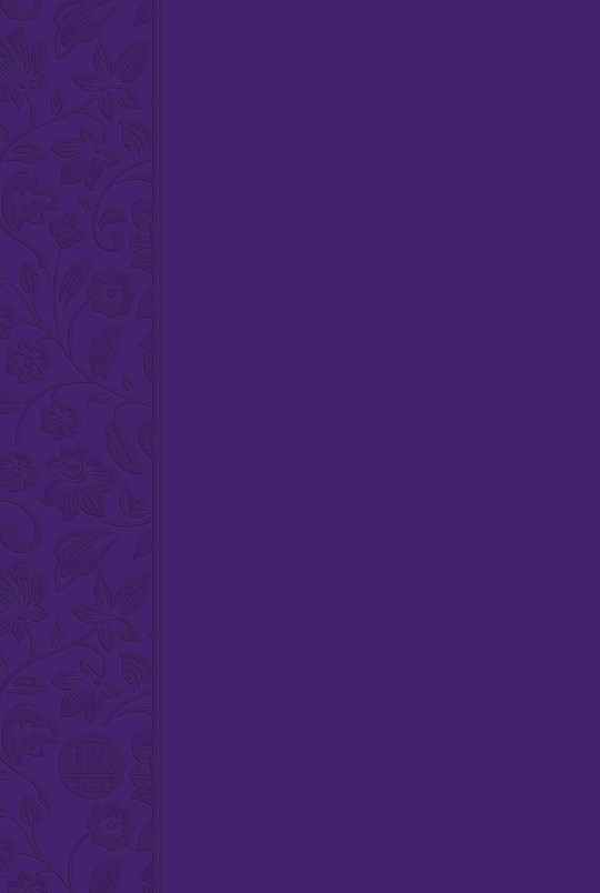 The Passion Translation New Testament w/Psalms, Proverbs & Song Of Songs (2020 Edition)-Violet Imitation Leather  | SHOPtheWORD