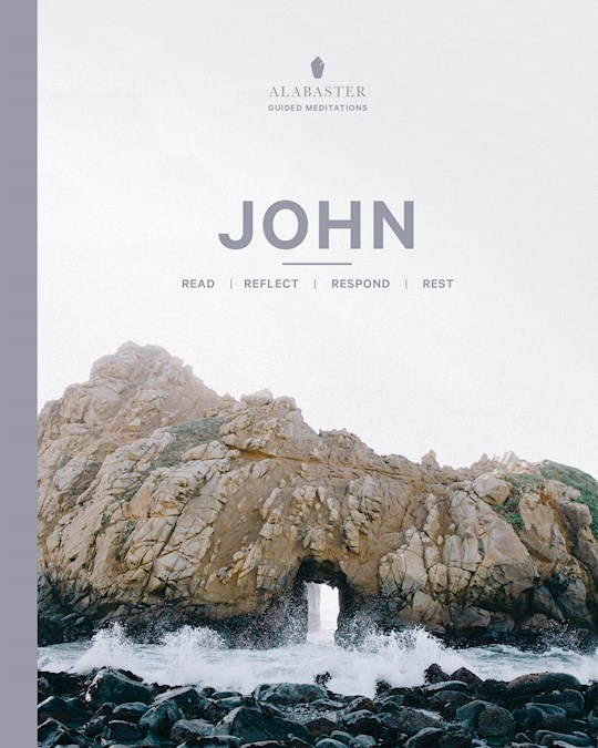 John (Alabaster Guided Meditations)-Softcover | SHOPtheWORD
