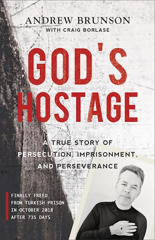 God's Hostage-Softcover (May 2021) by Andrew Brunson | SHOPtheWORD