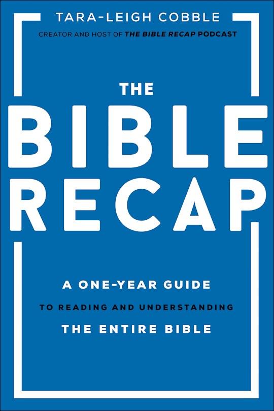The Bible Recap (Nov) by Tara Cobble | SHOPtheWORD