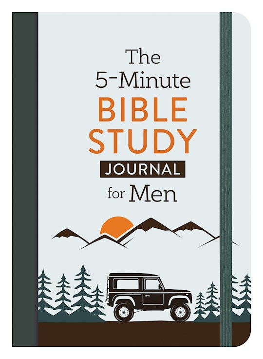 The 5-Minute Bible Study Journal For Men by David Sanford | SHOPtheWORD