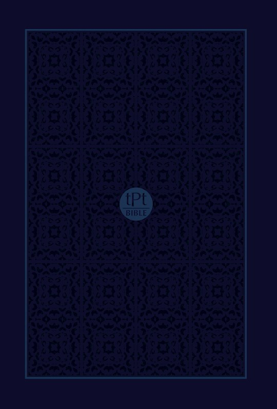The Passion Translation New Testament w/Psalms, Proverbs & Song Of Songs/Compact (2020 Edition)-Navy Imitation  | SHOPtheWORD