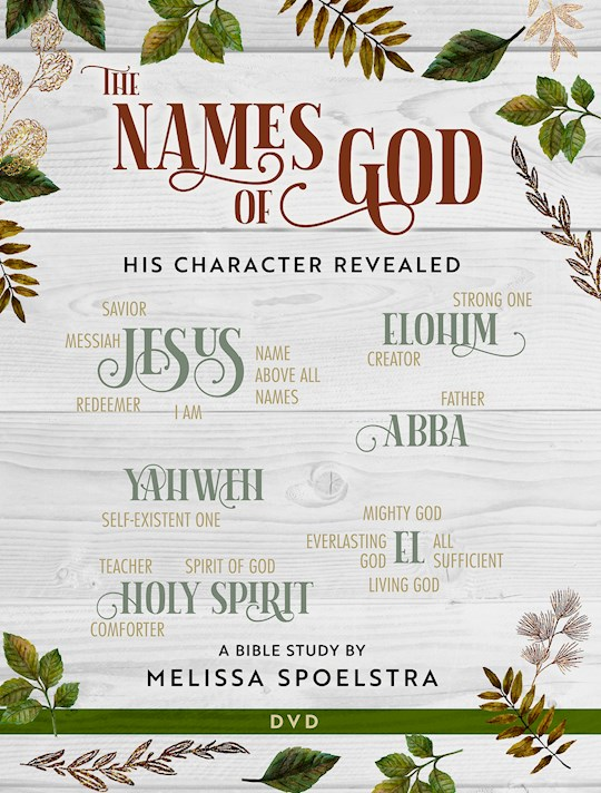 DVD-The Names Of God-Women's Bible Study (6 Sessions) (Aug) | SHOPtheWORD
