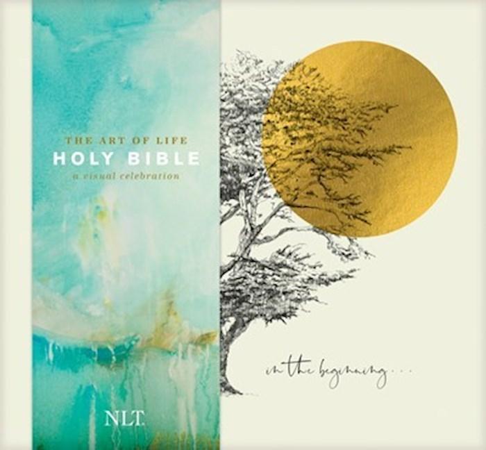 NLT The Art Of Life Holy Bible: A Visual Celebration-Hardcover (Feb 2021) | SHOPtheWORD