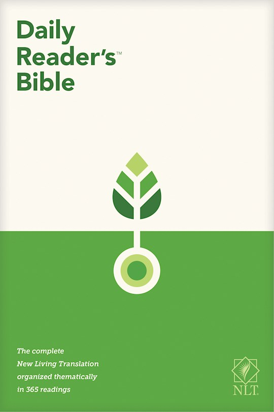NLT Daily Reader's Bible-Hardcover | SHOPtheWORD