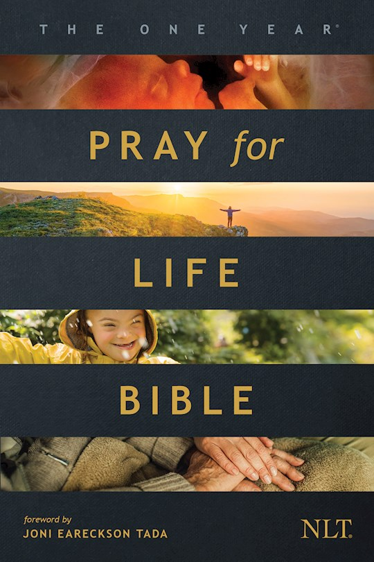NLT One Year Pray For Life Bible-Softcover (Nov) | SHOPtheWORD
