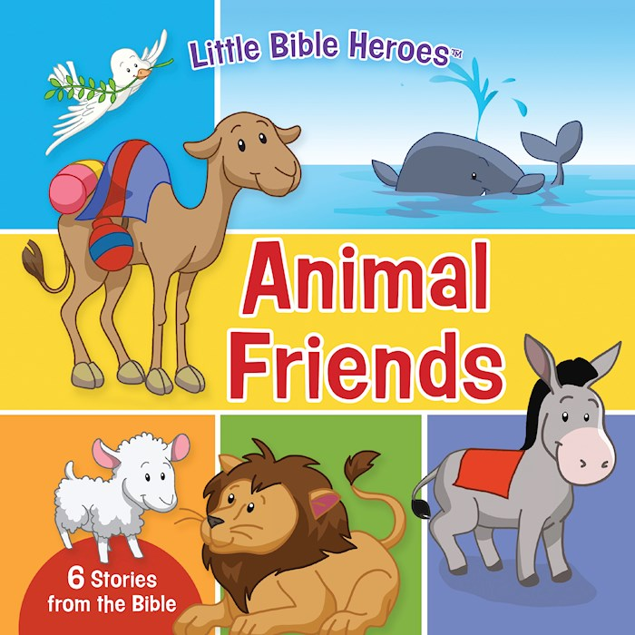 Animal Friends Board Book (Little Bible Heroes) (Oct) by Kids BH | SHOPtheWORD
