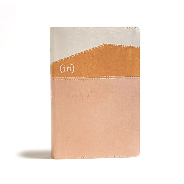 CSB (in)Courage Devotional Bible-Desert/Mustard/Alabaster LeatherTouch Indexed | SHOPtheWORD