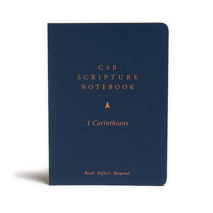CSB Scripture Notebook: 1 Corinthians-Softcover | SHOPtheWORD
