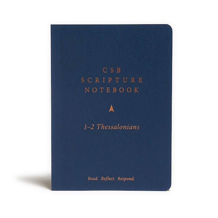 CSB Scripture Notebook: 1-2 Thessalonians-Softcover (Nov) | SHOPtheWORD