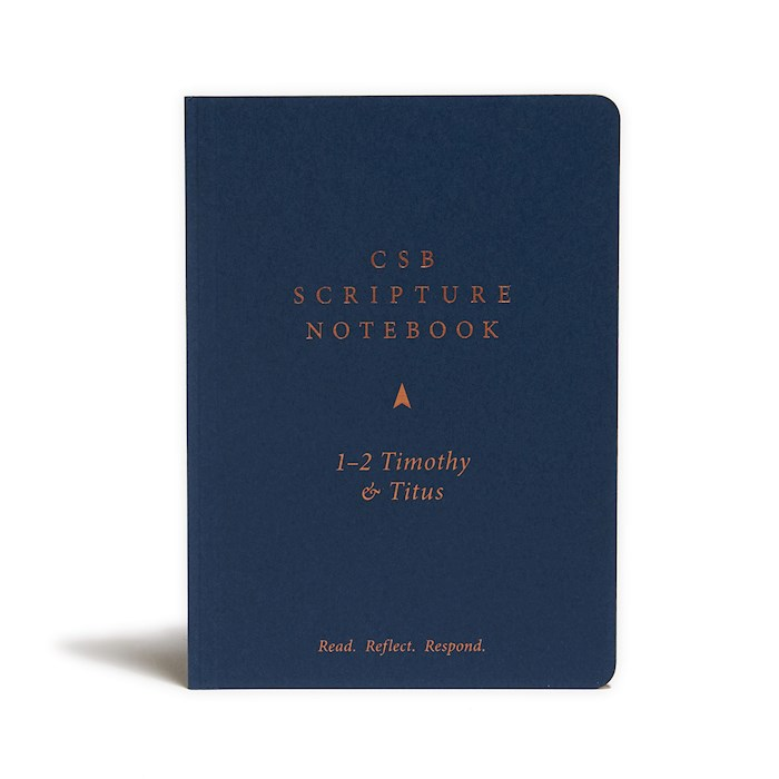 CSB Scripture Notebook: 1-2 Timothy And Titus-Softcover | SHOPtheWORD
